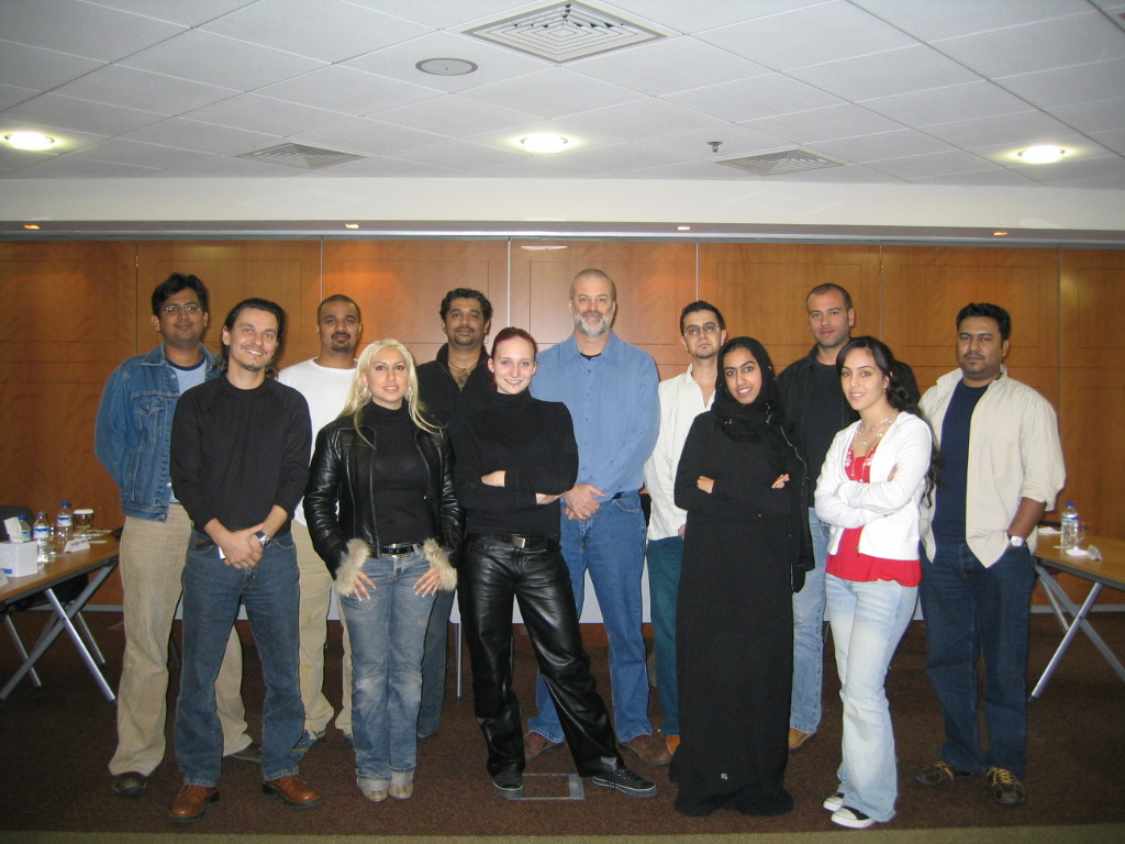 Art and Craft of the Director Workshop in Dubai